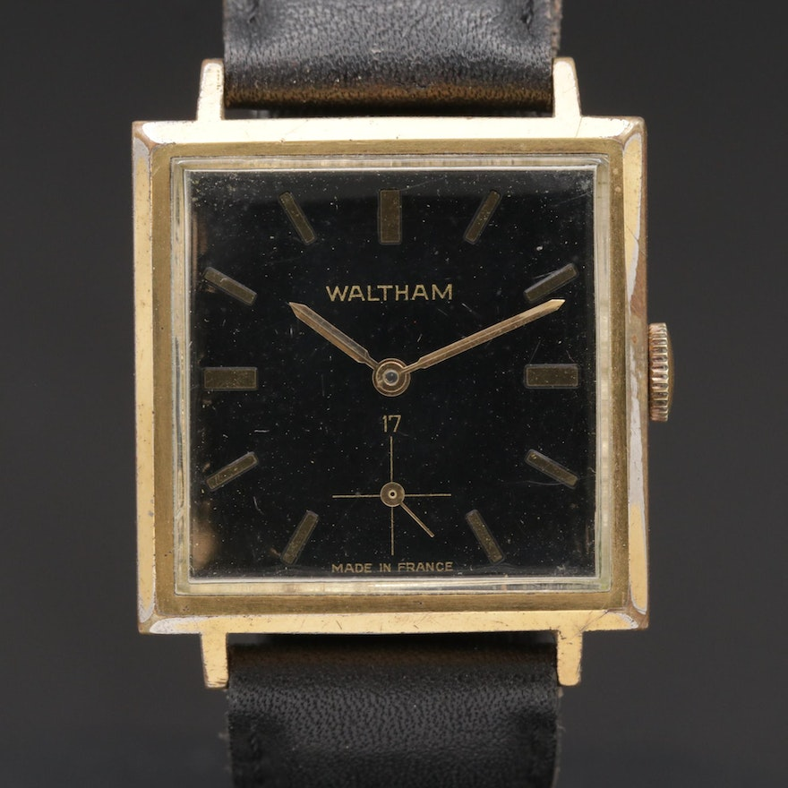 Waltham French Made Stem Wind Wristwatch