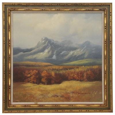 Segundo Huertas Landscape Oil Painting