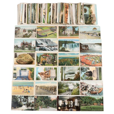 Postcards of Historic Massachusetts