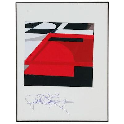 Robert Lackney Abstract Giclée