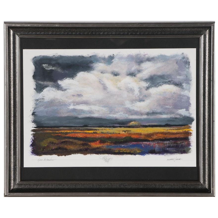 "Robert Lackney Acrylic Painting ""Good Afternoon"""