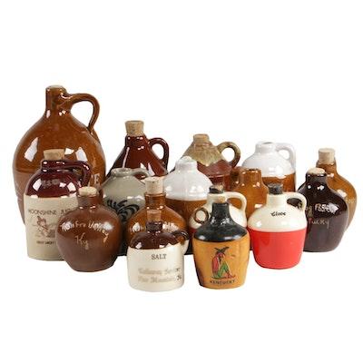 Ceramic and Stoneware Commemorative and Souvenir Jugs