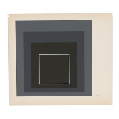 "Serigraph after Josef Albers from ""Homage to the Square"" Series"