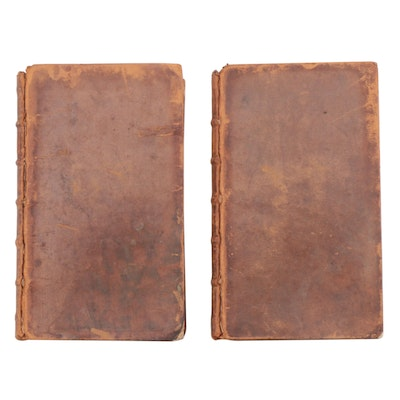 "1766 Leather Bound ""The History of Scotland"", Two Volume Set"