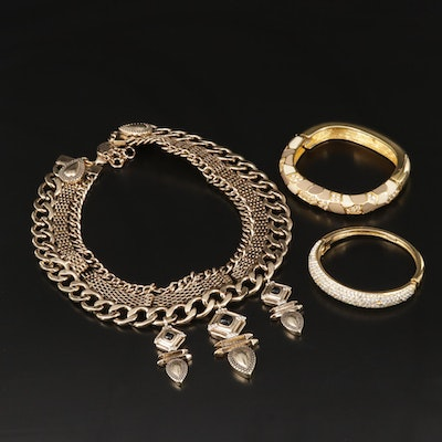 Collection of Jewelry Featuring Christian Dior, Joan Rivers and Samantha Wills