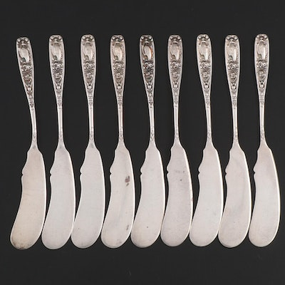 "Reed & Barton ""Empire"" Sterling Silver Butter Spreaders, Early 20th Century"