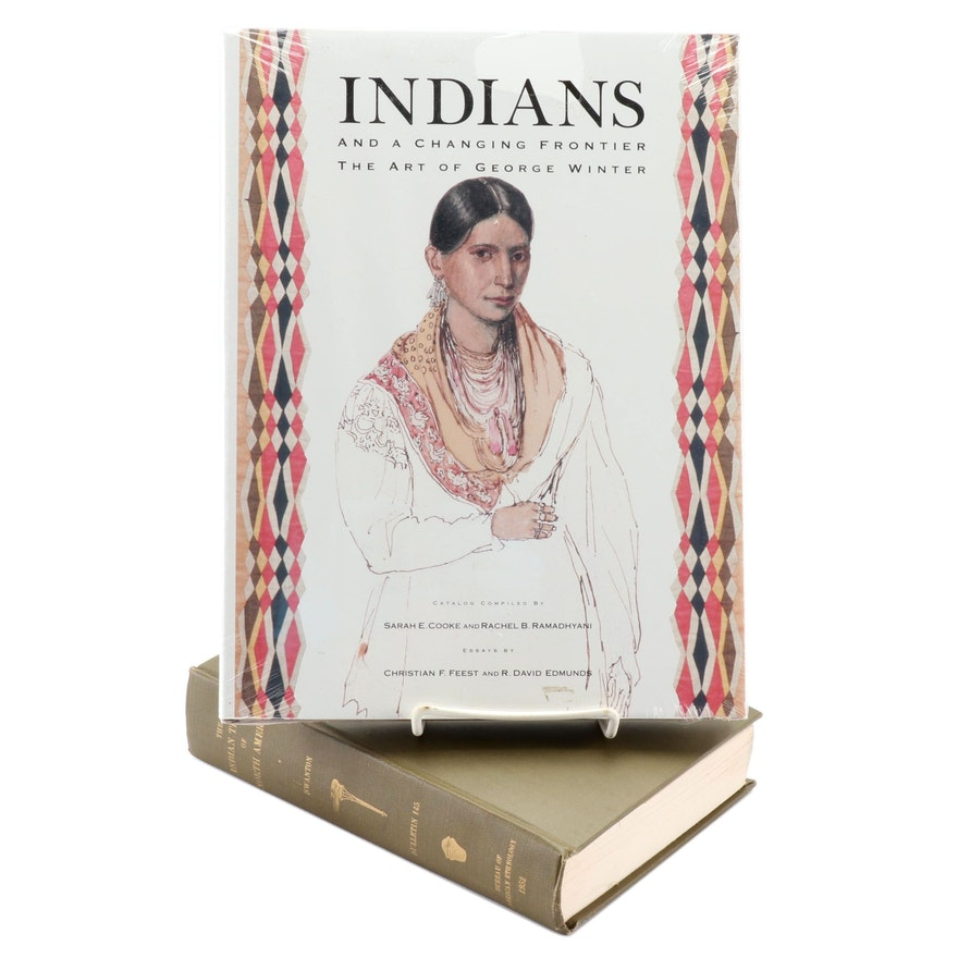 """Indians and a Changing Frontier"" with ""The Indian Tribes of North America"""