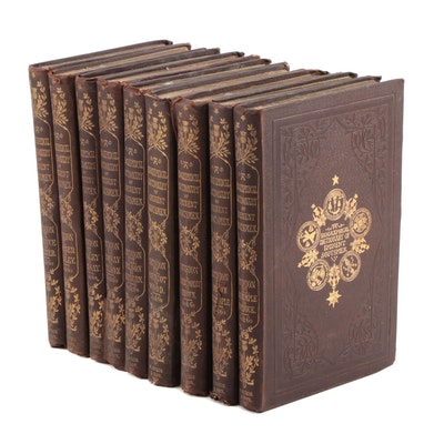 "1857 ""A Biographical Dictionary of Eminent Scotsmen"", Complete Nine Volume Set"
