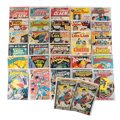 """""""Spider-Man"""", """"Superman"""", """"Jimmy Olsen"""" and More, Comic Books"""