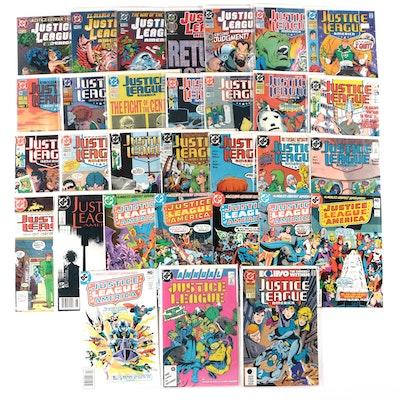 """""""Justice League"""" Comic Books"""