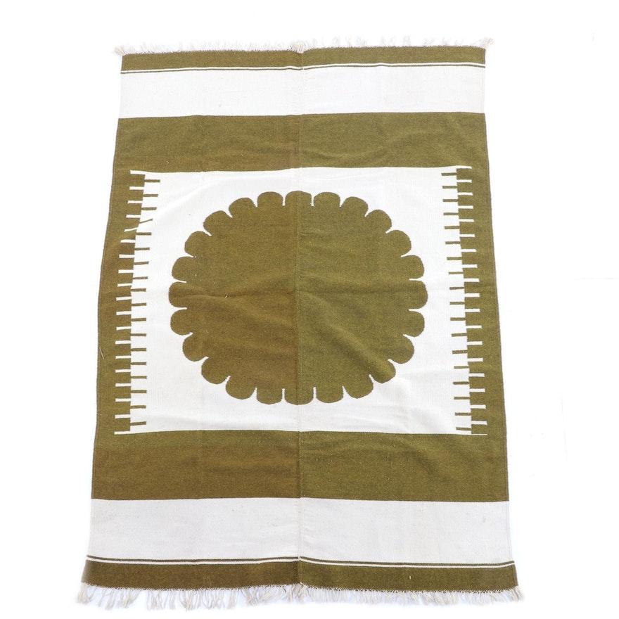 4'7 x 7'0 Handwoven Wool Rug