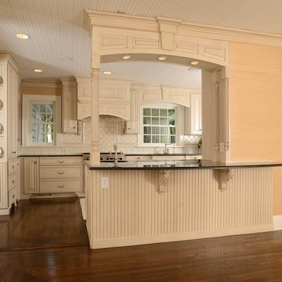 Kitchen Cabinets, Granite Counters, and Appliances Designed by Bzak Design Group