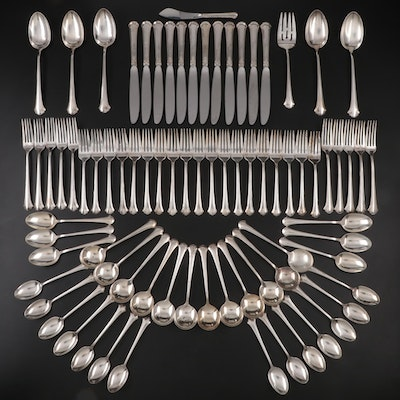 "Towle ""Chippendale"" Sterling Silver Flatware, Mid to Late 20th Century"