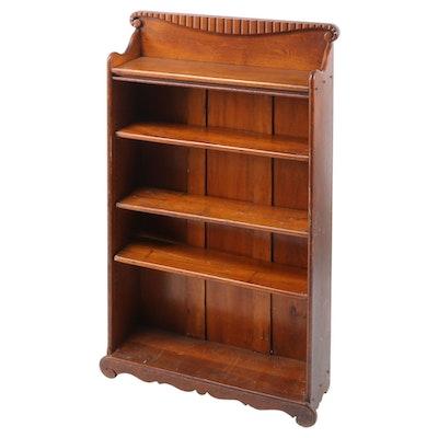 Late Victorian Oak Bookshelf, Late 19th Century