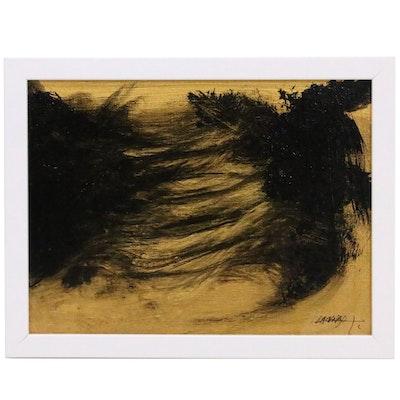 Robert Lackney Abstract Acrylic Painting