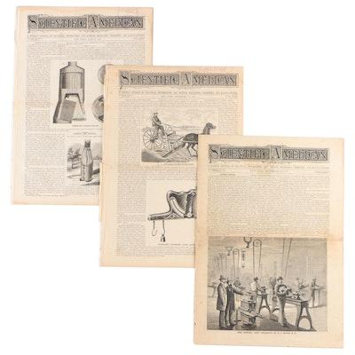 """Scientific American"" Magazine Issues, June 1867–September 1878"