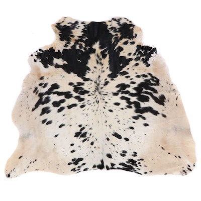 4'6 x 4'8 Natural Cowhide Rug