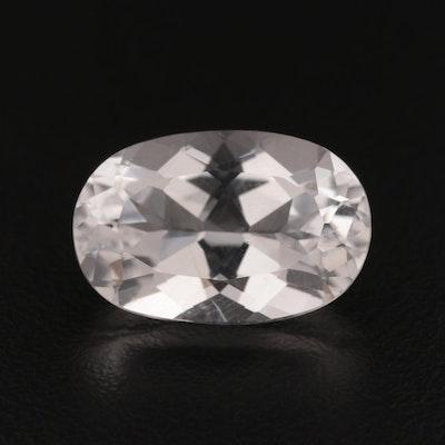 Loose Oval Faceted 9.78 CT Quartz Gemstones