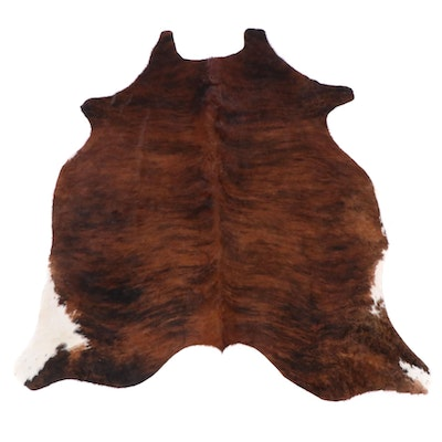 5'10 x 6'10 Natural Cowhide Area Rug