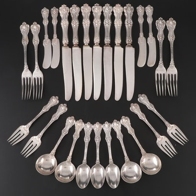 "Frank Smith ""Federal Cotillion"" Sterling and Silver Plate Flatware"