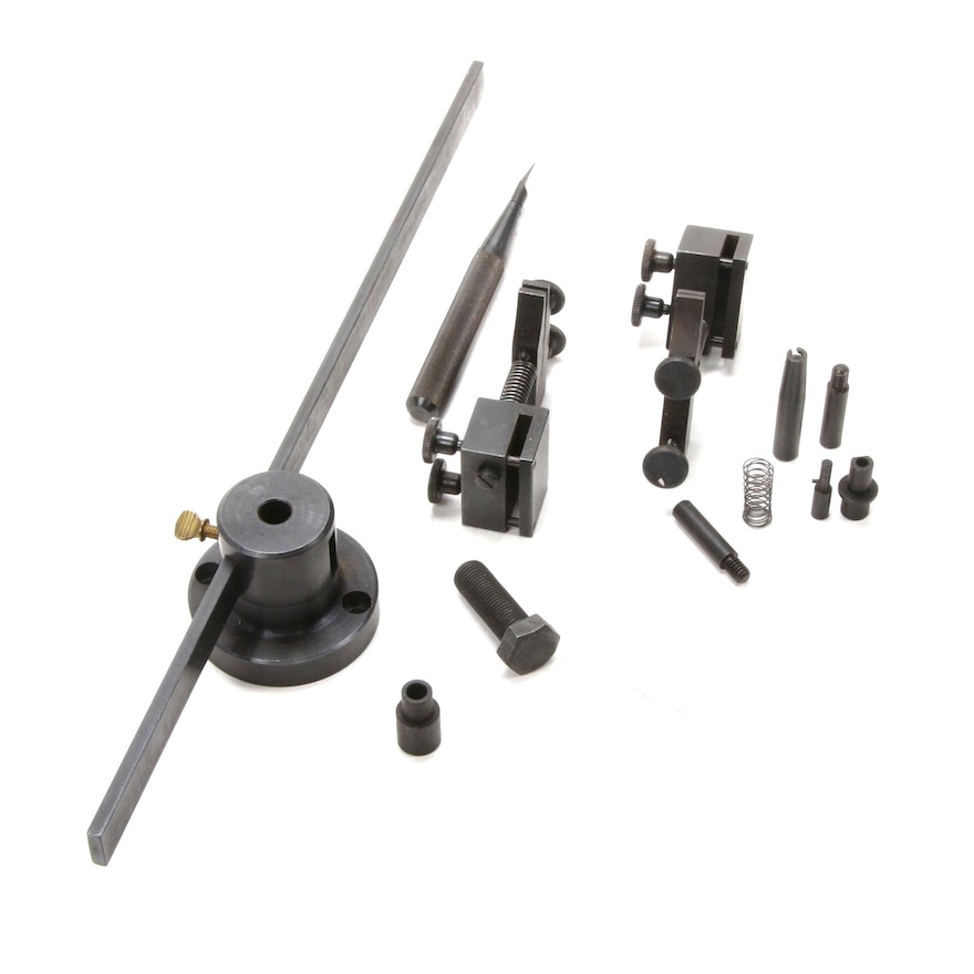 Clock Plate Bushing Tool Set with Clamps
