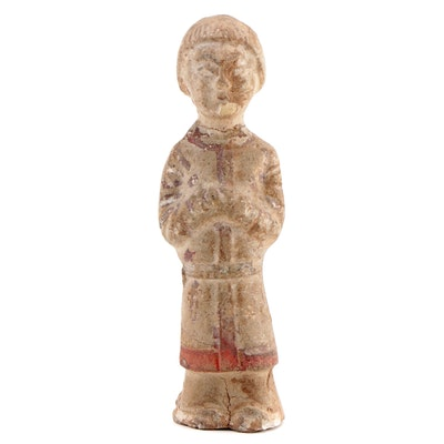 Chinese Terracotta Tomb Figure, Han Dynasty