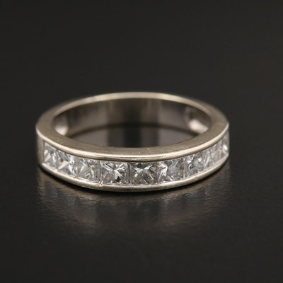 14K Yellow Gold 0.99 CTW Diamond Band