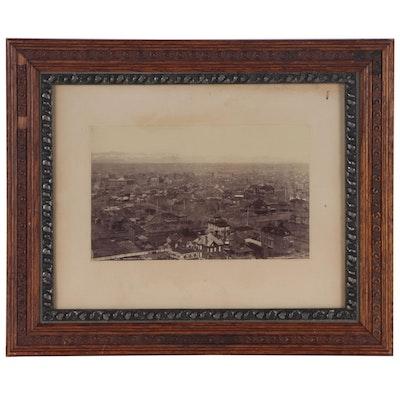 William Henry Jackson Albumen Photograph of Denver, Late 19th Century