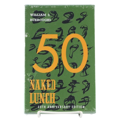 "50th Anniversary Edition ""Naked Lunch"" by William S. Burroughs, New In Slipcase"