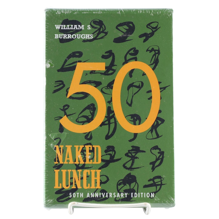 """50th Anniversary Edition """"Naked Lunch"""" by William S. Burroughs, New In Slipcase"""