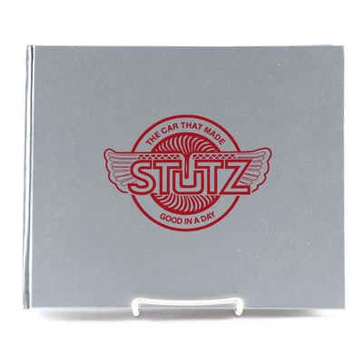 "Signed First Edition ""The Splendid Stutz: The Cars, Companies, People and Races"""