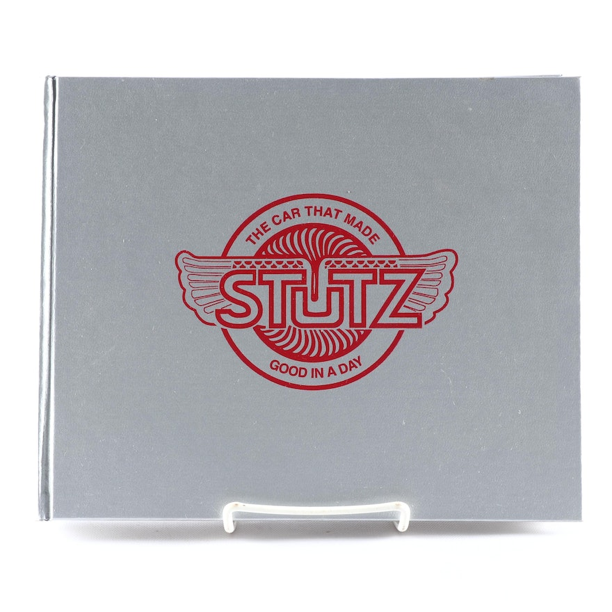 """Signed First Edition """"The Splendid Stutz: The Cars, Companies, People and Races"""""""