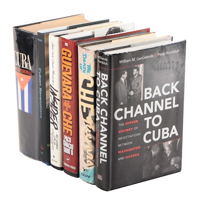 """Guevara Also Known as Che"" with Other Cuban Biographies and History Books"