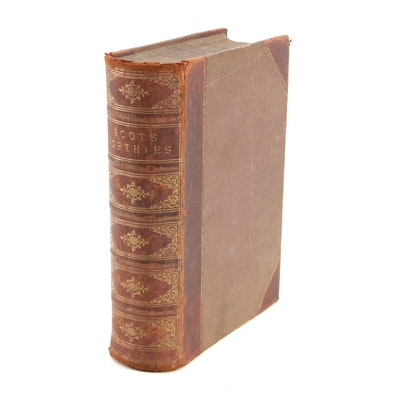 "1879 Leather Bound ""The Scots Worthies"", Illustrated"