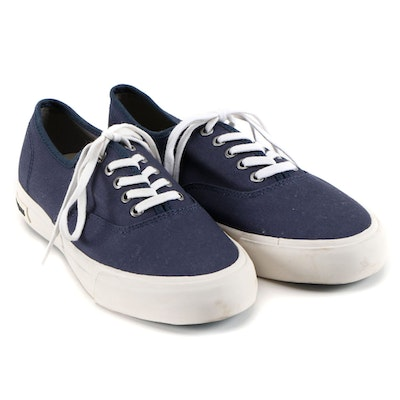 Women's SeaVees Monterey Blue Canvas Sneakers