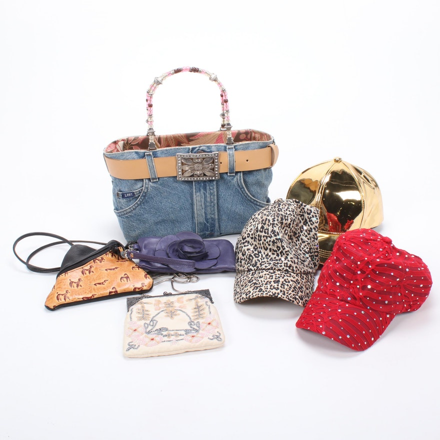 """Bootie Bag"", Valerie Stevens and Other Handbags and Hats"