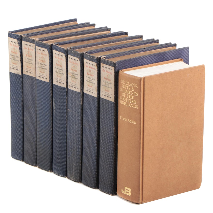 """Limited Edition """"History of Scotland, Its Highlands, Regiments, Clans"""" and More"""