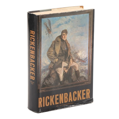"Signed ""Rickenbacker: An Autobiography"" by Edward V. Rickenbacker, 1967"