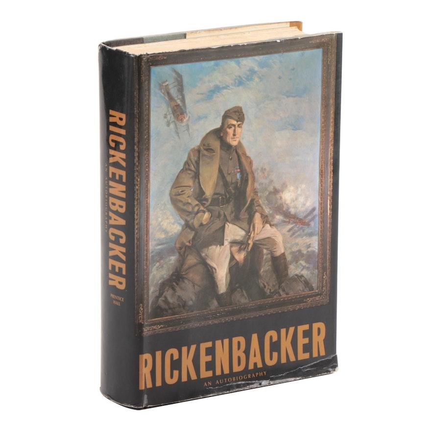 "Signed ""Rickenbacker: An Autobiography"" by Edward V. Rickenbacker, 1967"