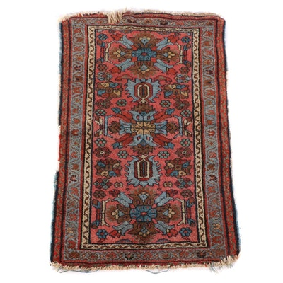 1'11 x 3'1 Hand-Knotted Southern Caucasus Wool Rug