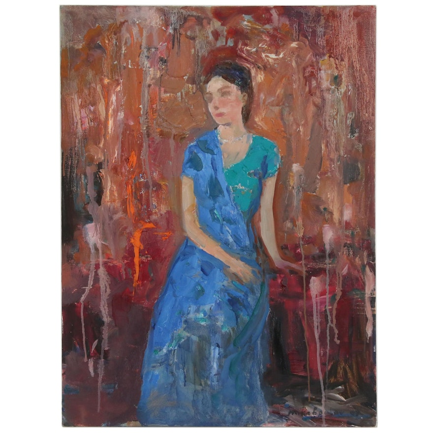 Murat Kaboulov Figural Oil Painting, 2007