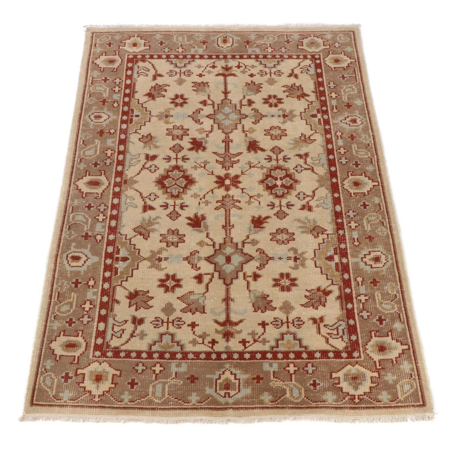 5'9 x 8'1 Hand-Knotted Indo-Persian Tabriz Rug