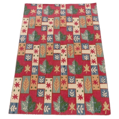 4'7 x 6'10 Handwoven Caucasian Kilim Rug