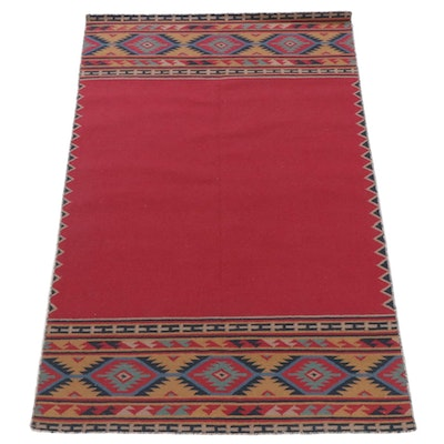 5'0 x 7'7 Handwoven Turkish Kilim Rug
