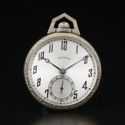 1922 Illinois 14K Gold Filled Pocket Watch