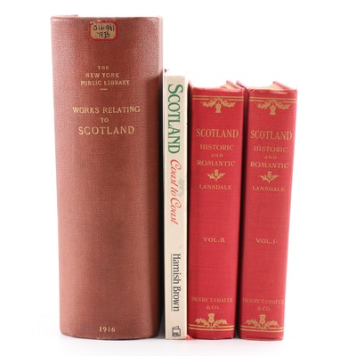 "1916 ""A List of Works Relating to Scotland"" with Other Scotland Books"