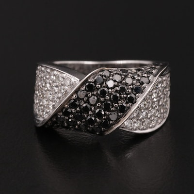 18K Gold 1.00 CTW Diamond Band