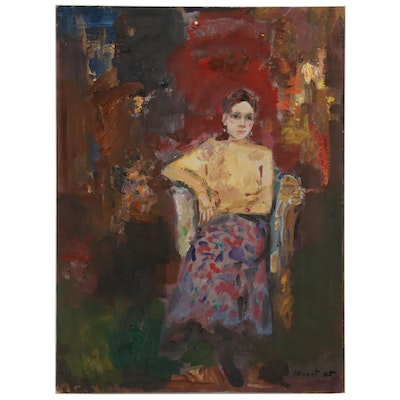 """Murat Kaboulov Figural Oil Painting """"#399"""", 2005"""