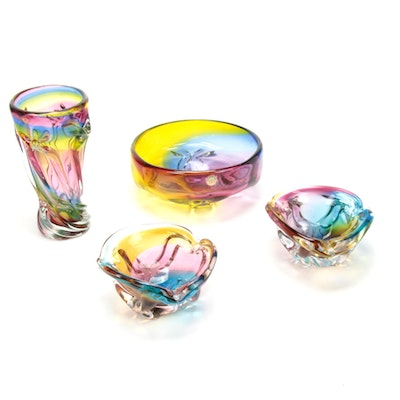 Hokuyo Glass Table Decor and Accessories