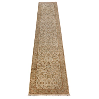 3'8 x 21'10 Hand-Knotted Persian Hamadan Long Rug